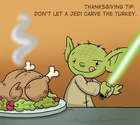 Funny Thanksgiving Cartoon
