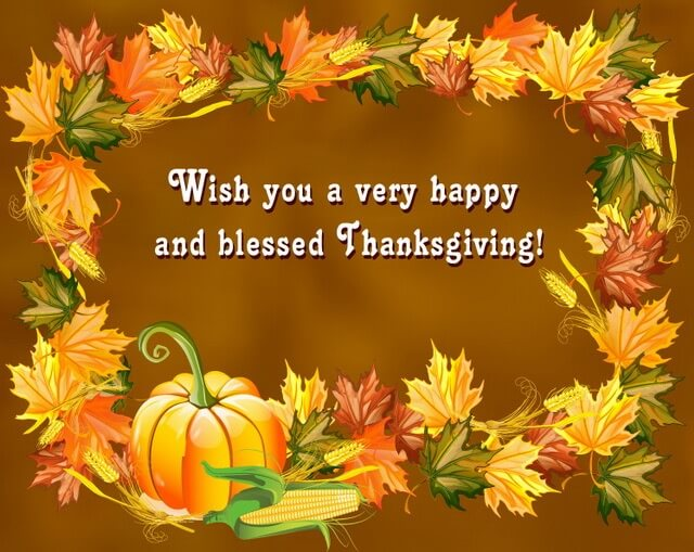 Happy Thanksgiving 2018 Wishes