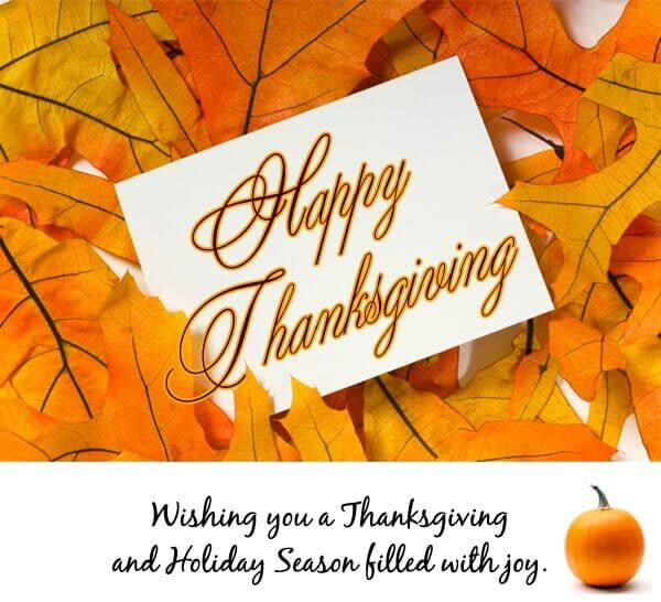 Happy Thanksgiving 2019 Greetings