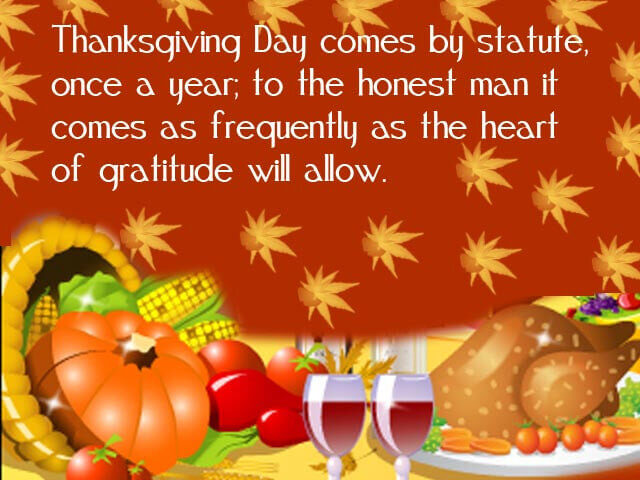 Thanksgiving 2019 Greetings