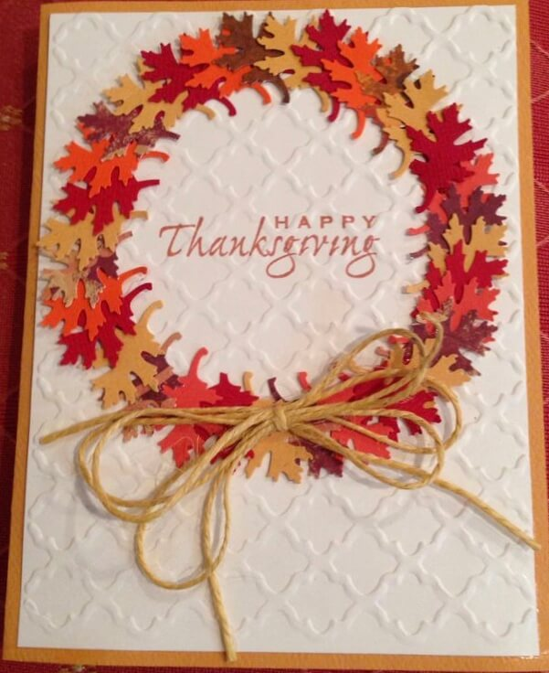 Thanksgiving Cards Homemade