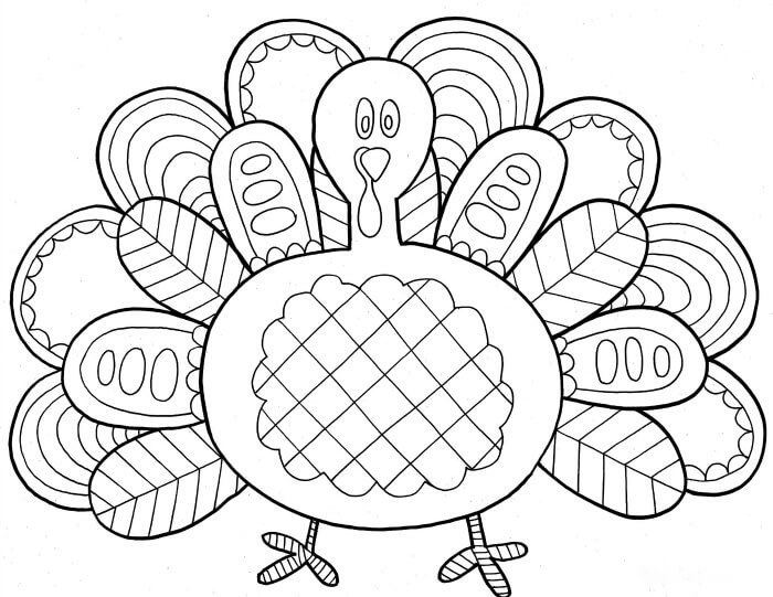Happy Thanksgiving Coloring Pages Free Printable Download For Kids Rhthanksgivingimages: Thanksgiving Coloring Pages Free Download At Baymontmadison.com