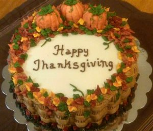 Thanksgiving Cake Images