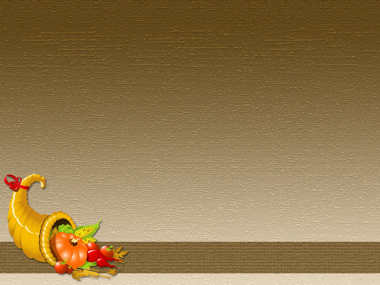 Thanksgiving PPT Backgrounds