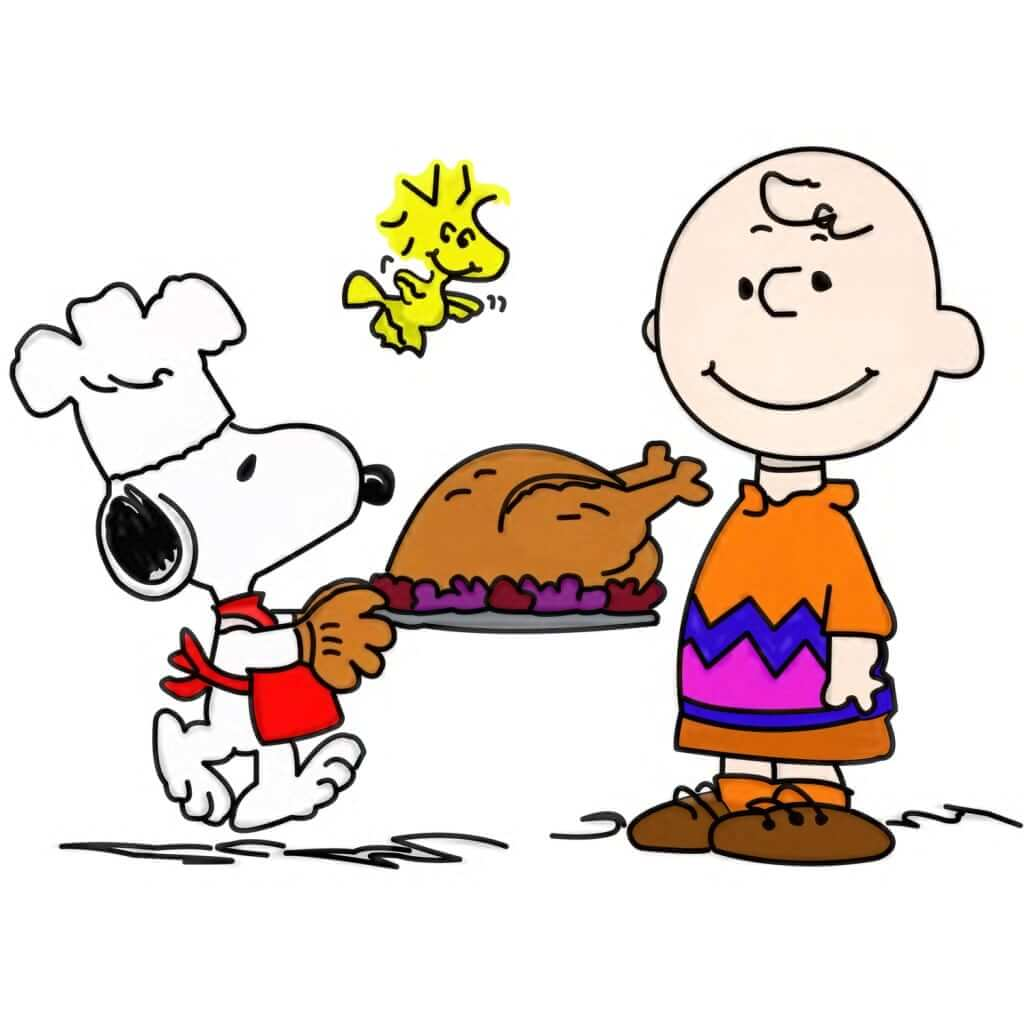 Thanksgiving Snoopy Images