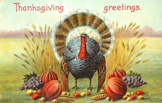 Thanksgiving Vintage Images