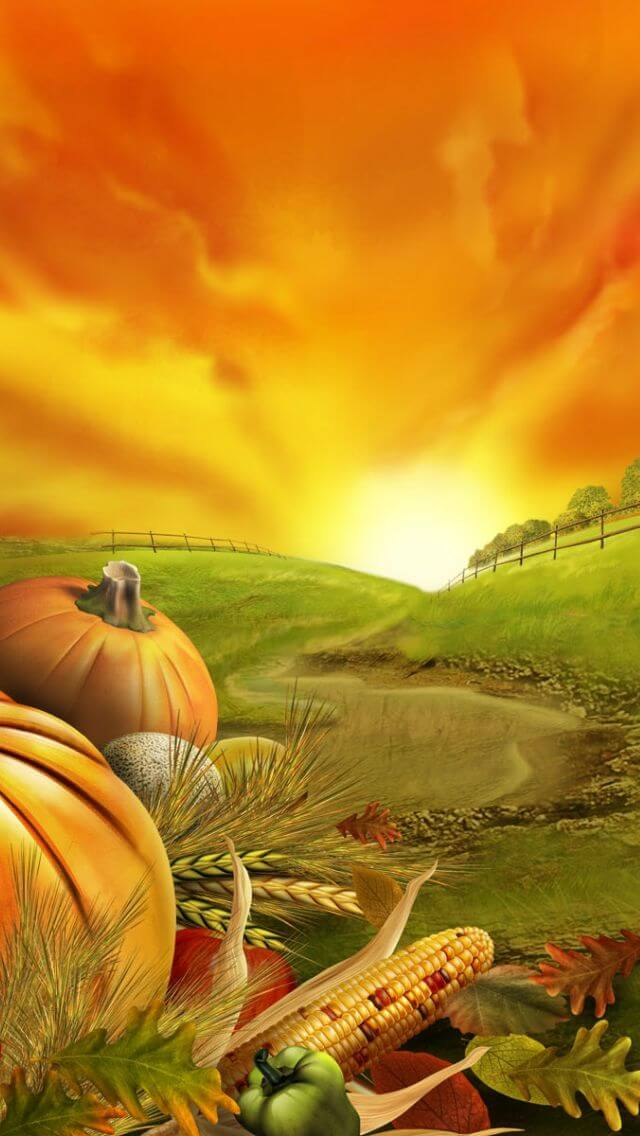 Thanksgiving Wallpaper For iPhone 7