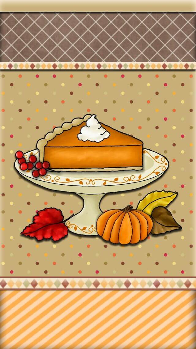 Thanksgiving Wallpaper For iPhone X