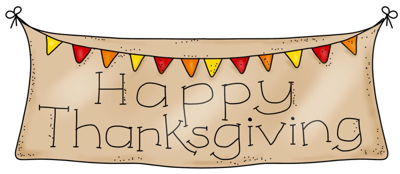Cute Thanksgiving Banner
