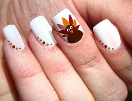 Cute Thanksgiving Nails
