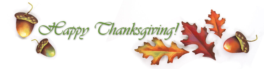 Free Thanksgiving Banner