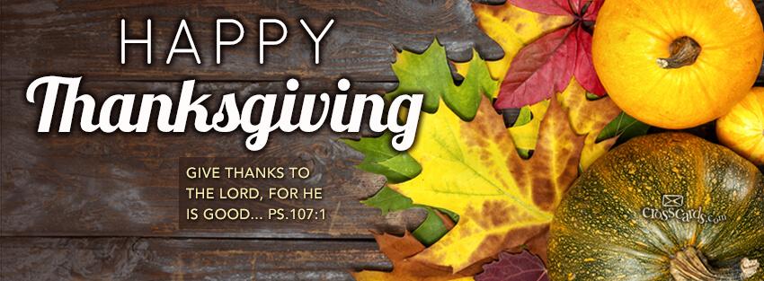 Religious Thanksgiving Banner