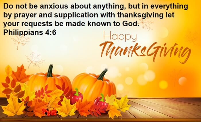Religious Thanksgiving Prayers