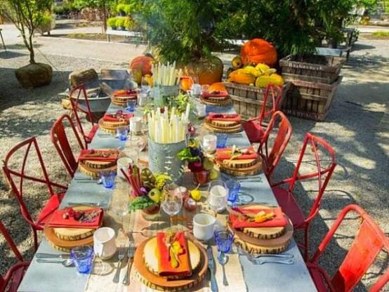 Thanksgiving Day Table Decoration Ideas
