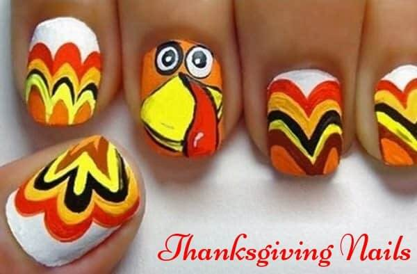 Thanksgiving Nails Arts