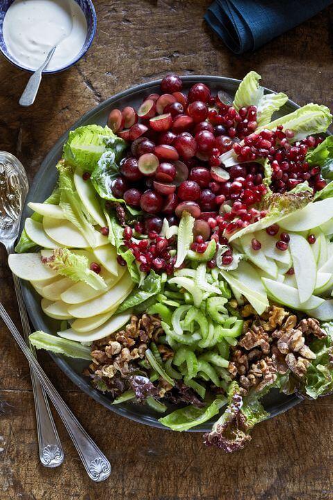 Thanksgiving Composed Waldorf Salad