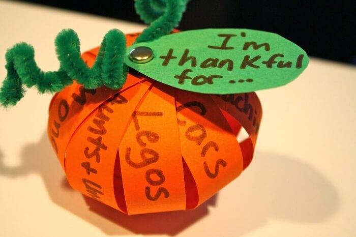 Thanksgiving Pumpkin Crafts Ideas For Kids
