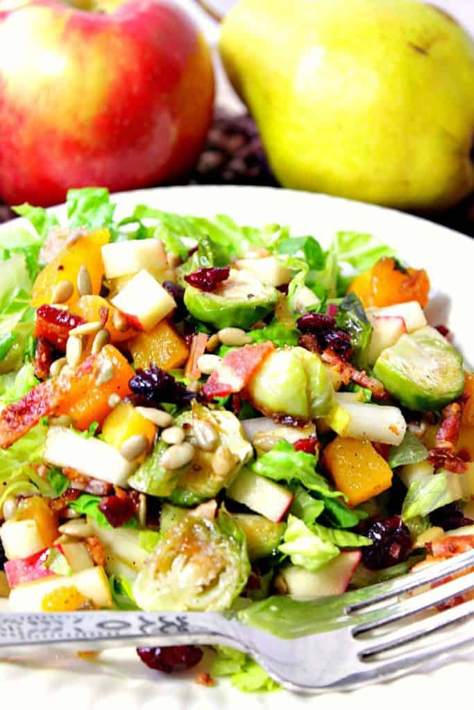 Thanksgiving Winter Chopped Salad
